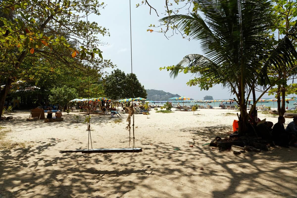 Nai Yang Beach | under a tree