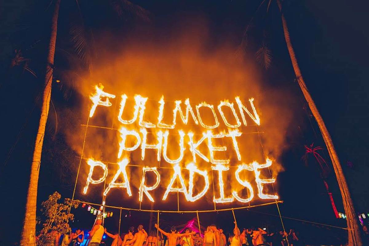 Paradise Beach | Full moon Party Phuket
