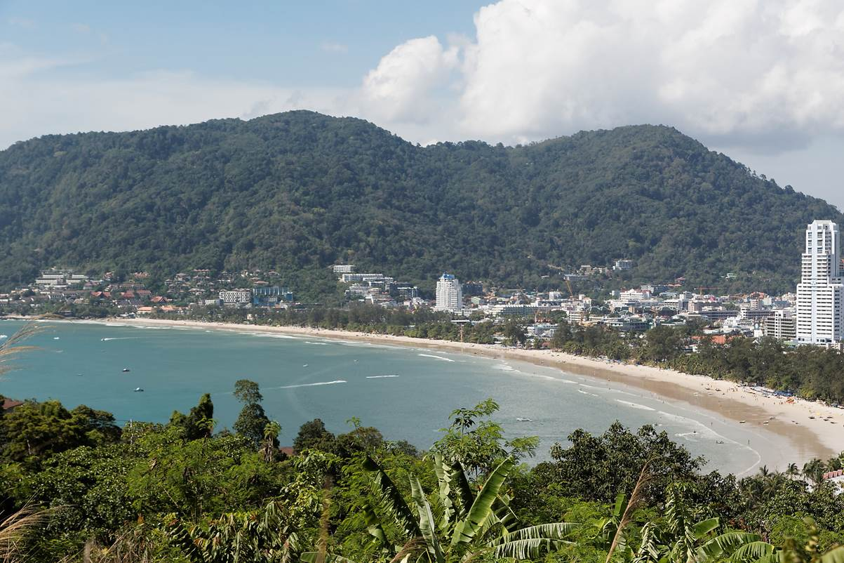 Patong Beach | Birdview