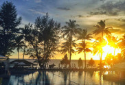 Sunset @ Relax Beach (aka Relax Bay) Phuket