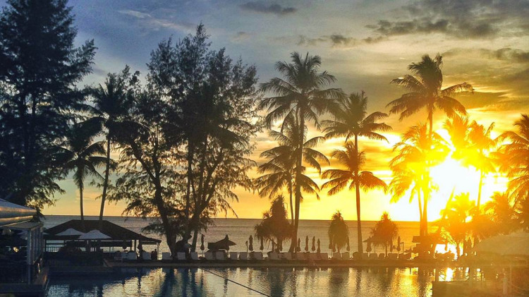 Sunset @ Relax Beach (aka Relax Bay) Phuket