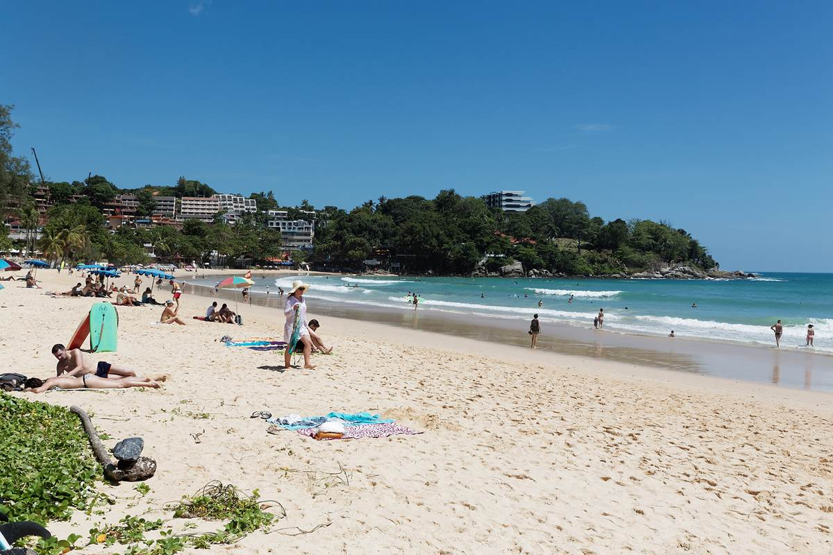 Kata Beach Phuket | View of the south part of the beach