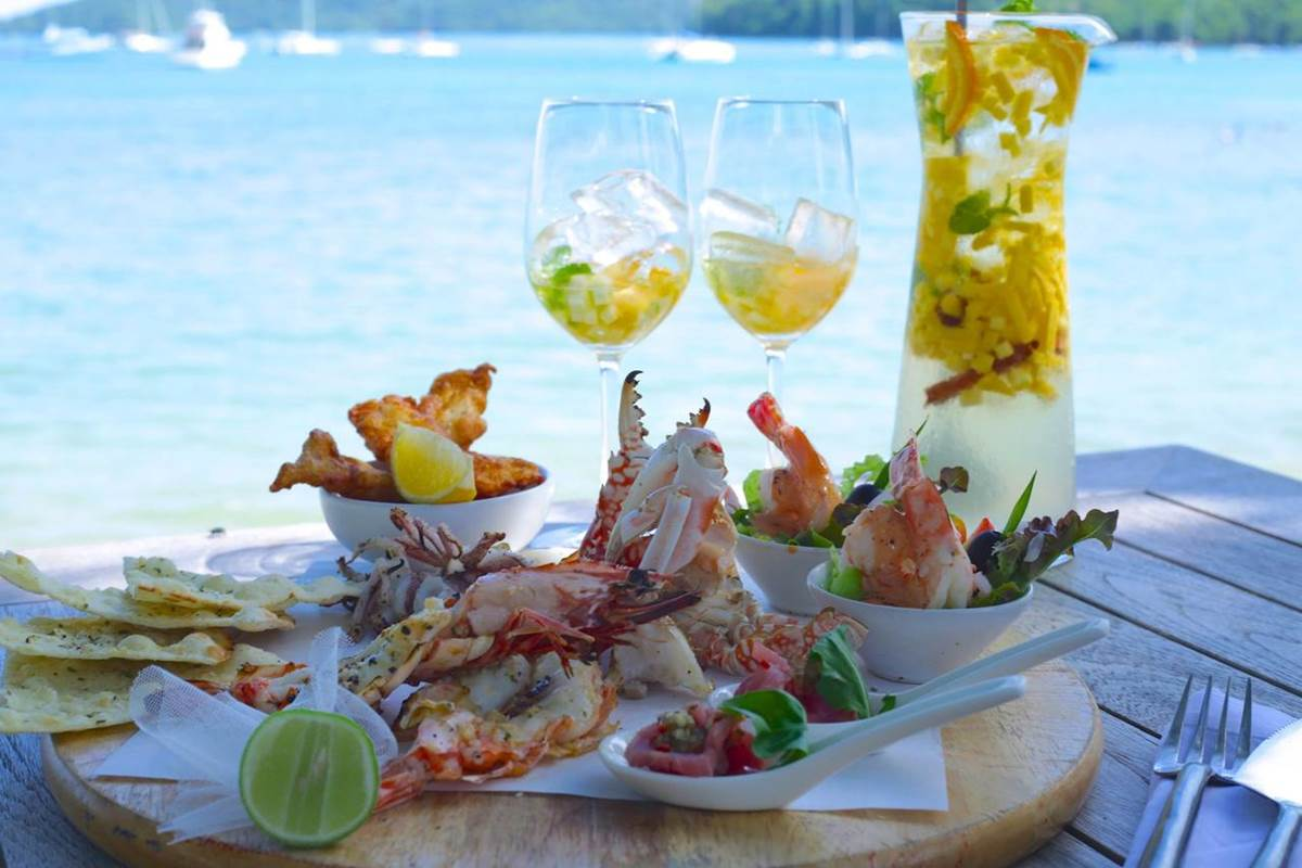 Ao Yon Noi Beach | Delicious dishes at Cove Phuket