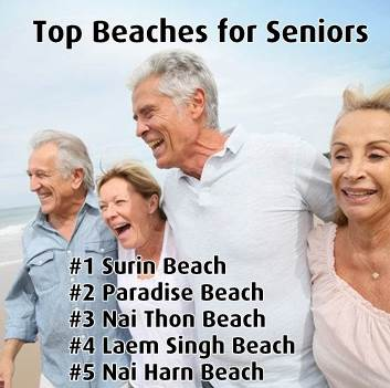 Best Phuket Beaches for Seniors / Retirees