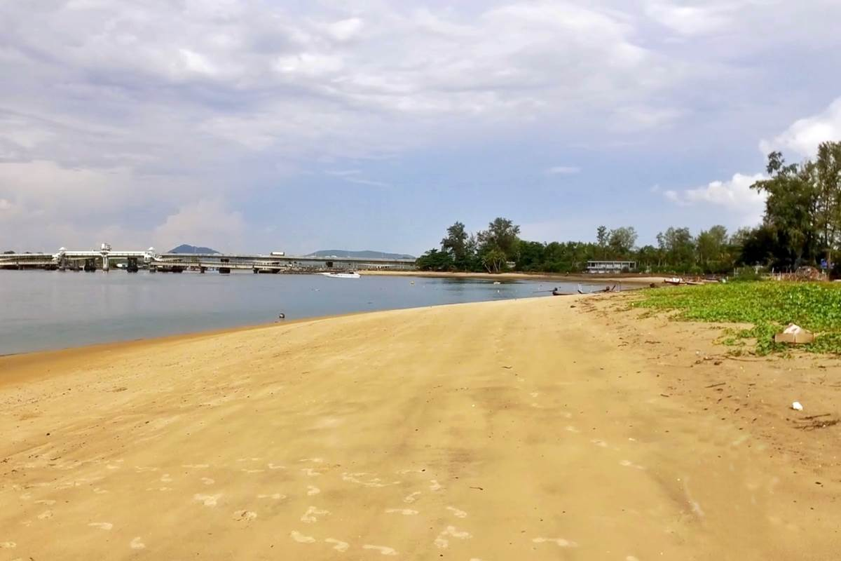 Haad Pak Phra Beach Phuket   Sarasin Bridge