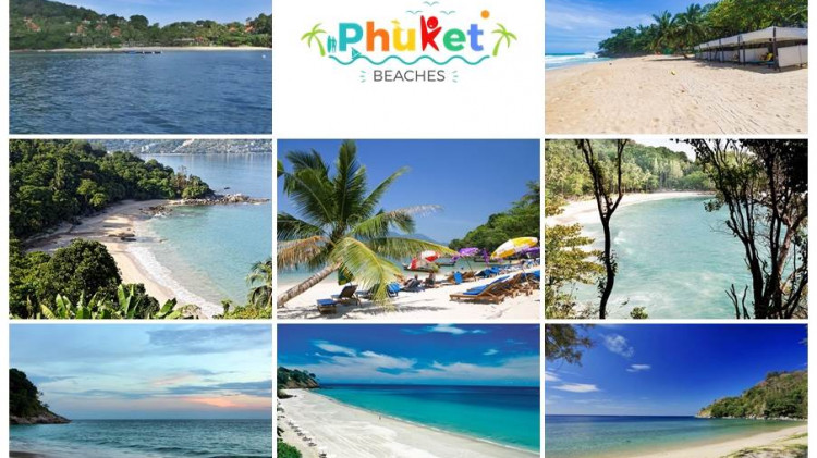 Beach picture composing for blog Best Private Phuket Beaches