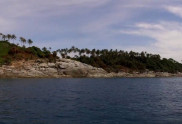View from the sea of Koh Kaeo Noi Island