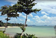 View of one of the Koh Naka Yai Island Beach
