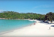 View of the Koh Racha Yai Island Siam Bay Beach