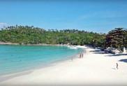 View of the Koh Racha Yai Island Siam Bay Beach