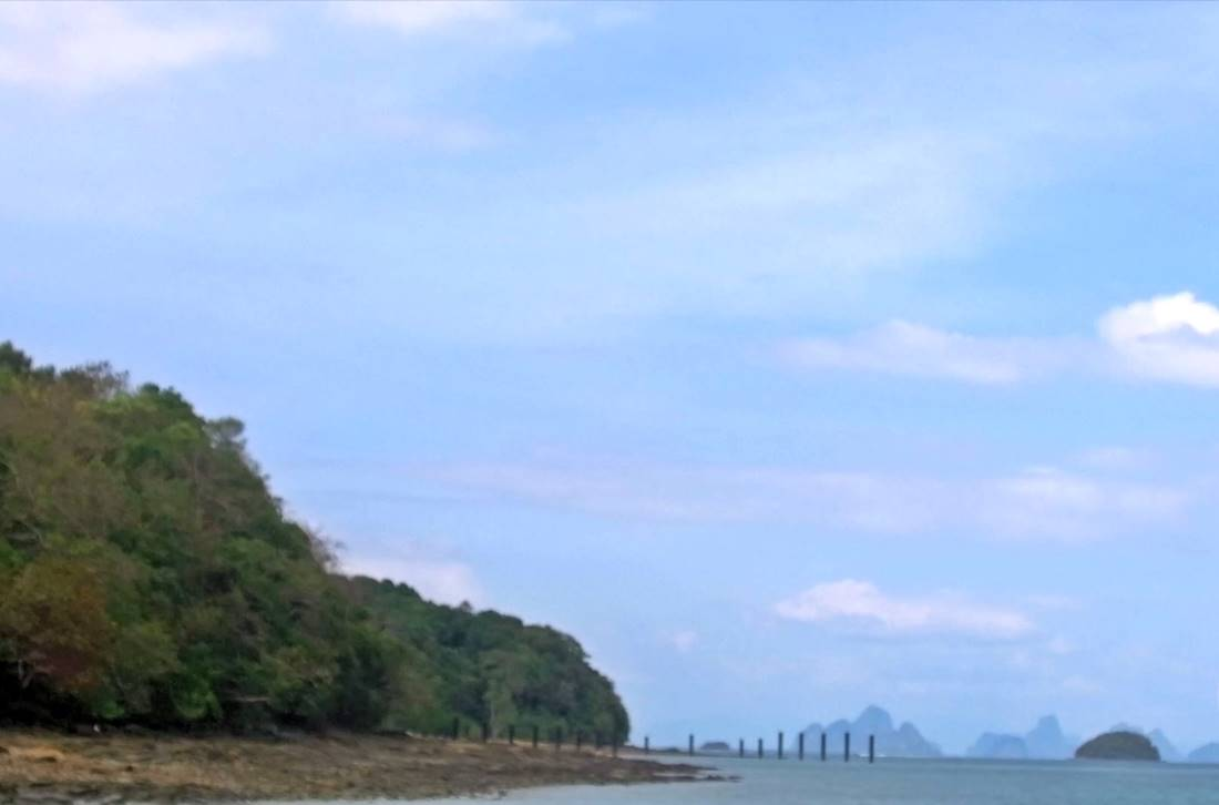 View of one of Koh Raet Island beach