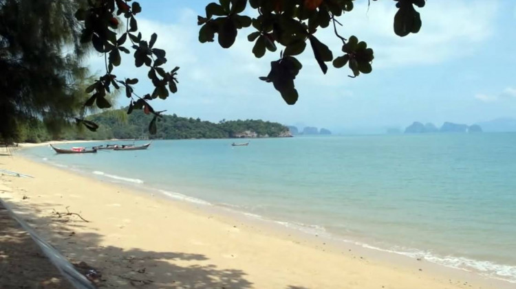 View of Long Beach on Koh Yao Noi Island