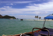 View from the sea of one of Koh Yao Yai Island Beach
