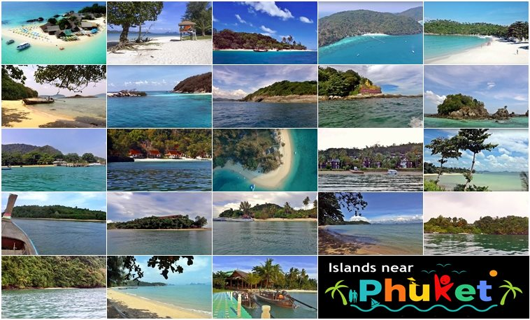 picture composing of small island near phuket
